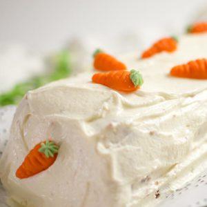 Karottenkuchen-Rezept Ostern