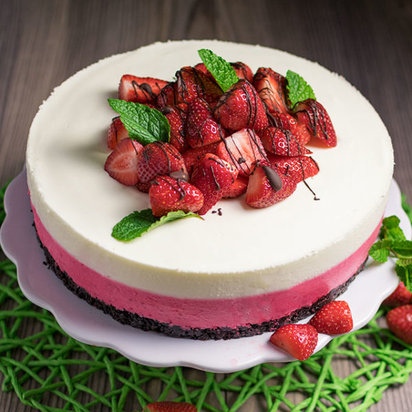 Erdbeerjoghurttorte-kuehlschranktorte