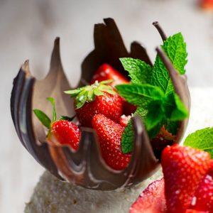 Schokoladenschale Rezept
