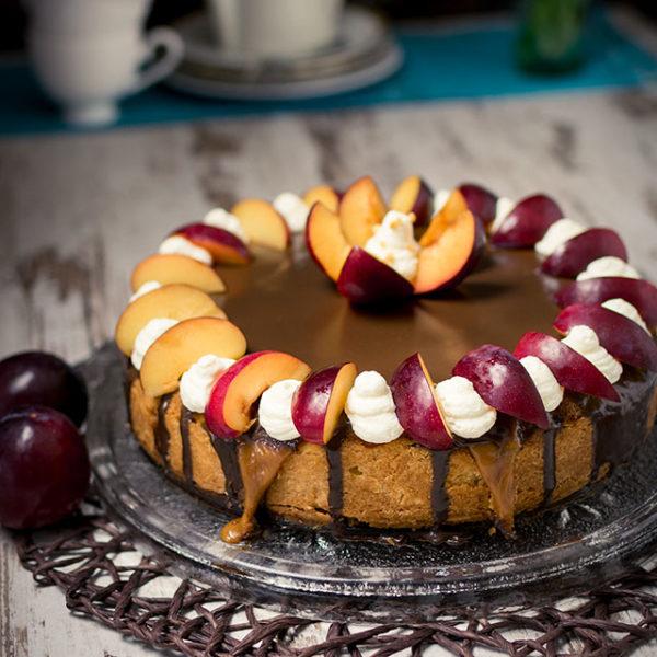 Pflaumenkuchen-mit-Schokolade