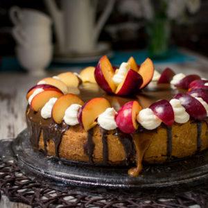 Kuchen-mit-Karamell