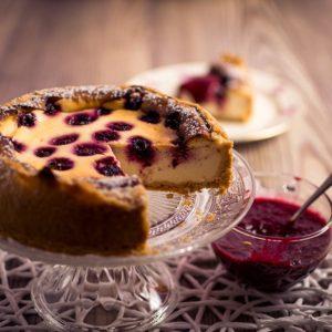 Saftiger-Kaesekuchen-Rezept