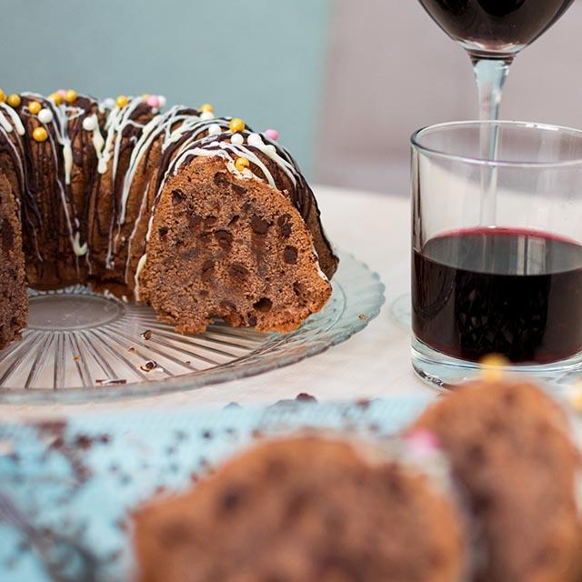 Schokoladenrotweinkuchen Rezept