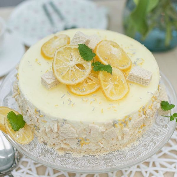 Zitronenlikoer Tortenrezept