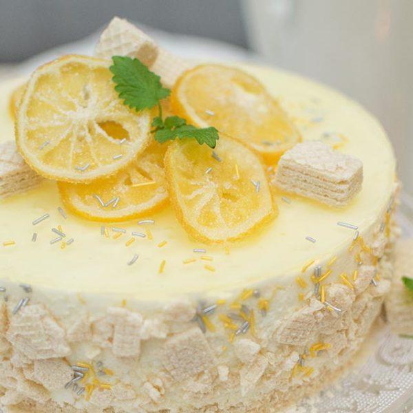 Kandierte Zitronen