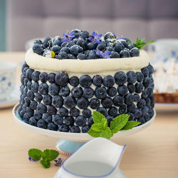 Fruchtige-Blaubeertorte