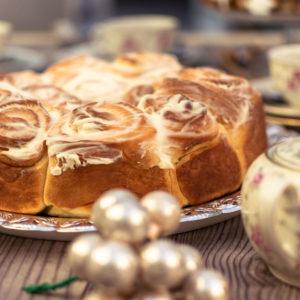 Hefekuchen-Vanillegeschmack