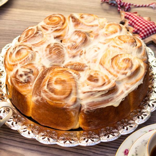 Rosenkuchen mit Vanille