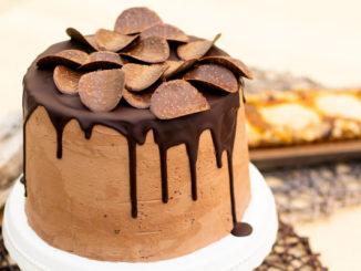 Schokoladenbuttercreme-Torte