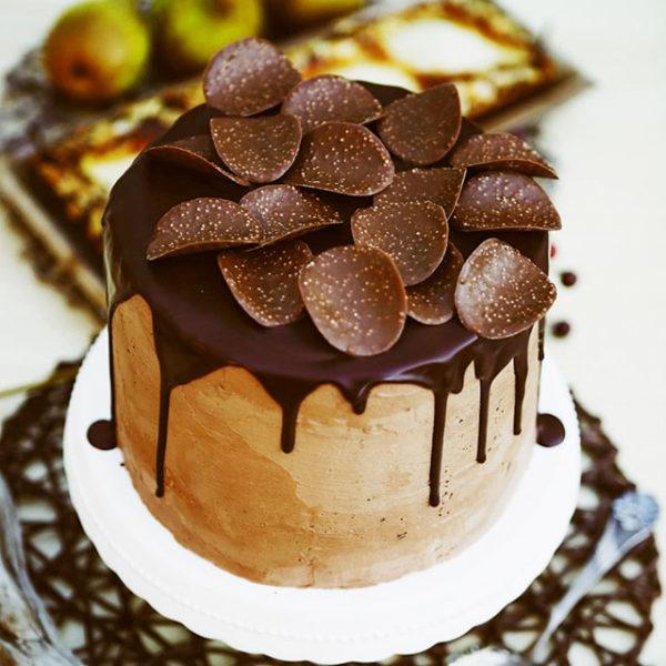 Schokoladentorte mit Crunch