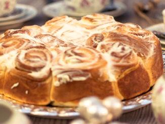 Vanille-Rosenkuchen